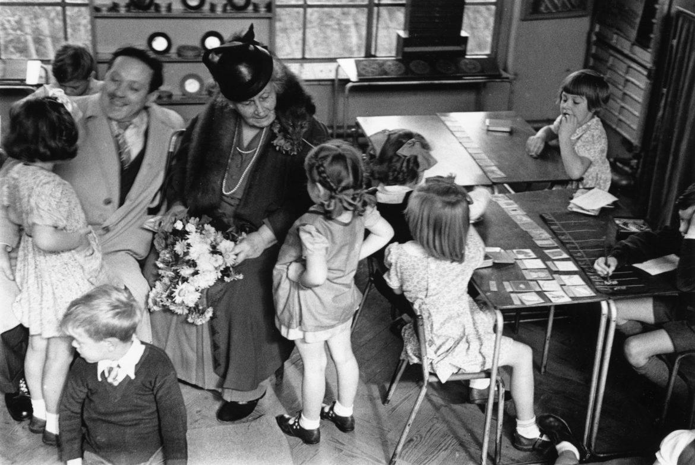Maria Montessori Çocuklarla
